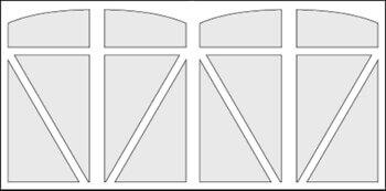 SophisticateSeries Model #T5FS Door Preview