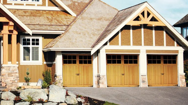 Carriage House Wood Doors
