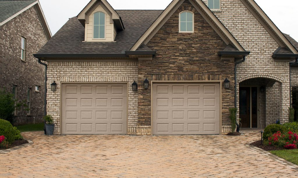 garage door slider residential image best steel ideal traditional panel construction doors