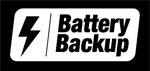 battery backup logo