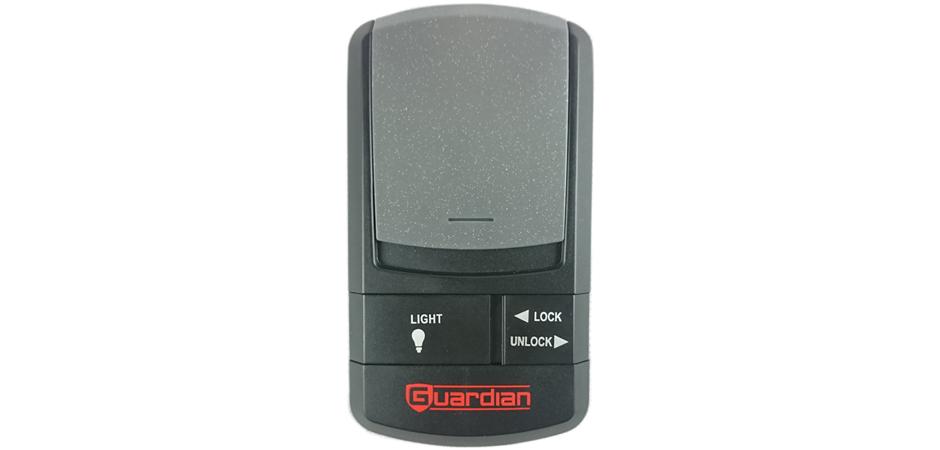 guardian deluxe door control console
