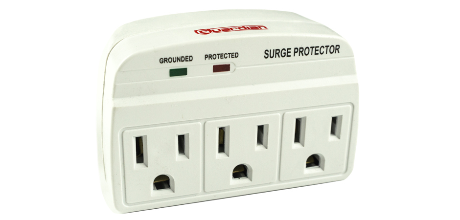 guardian three outlet surge protector