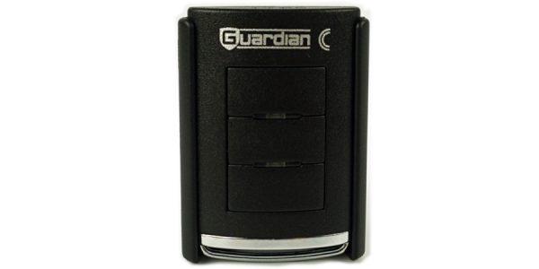 guardian 3 button mini remote control