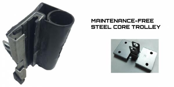 steel core trolley